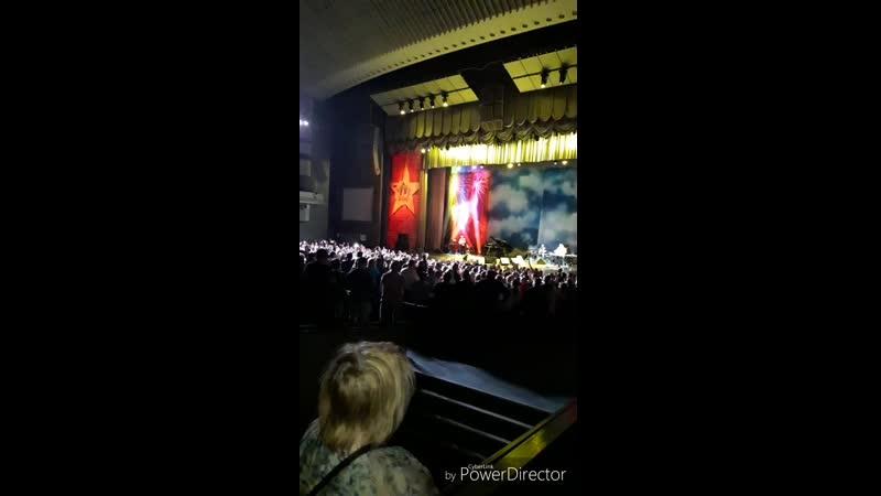 На концерте А.Я. Розембаума 9 мая 2019.