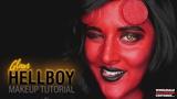 HELLBOY GLAM MAKEUP TUTORIAL ft. Caitlyn Kreklewich #WHCdoesSFX