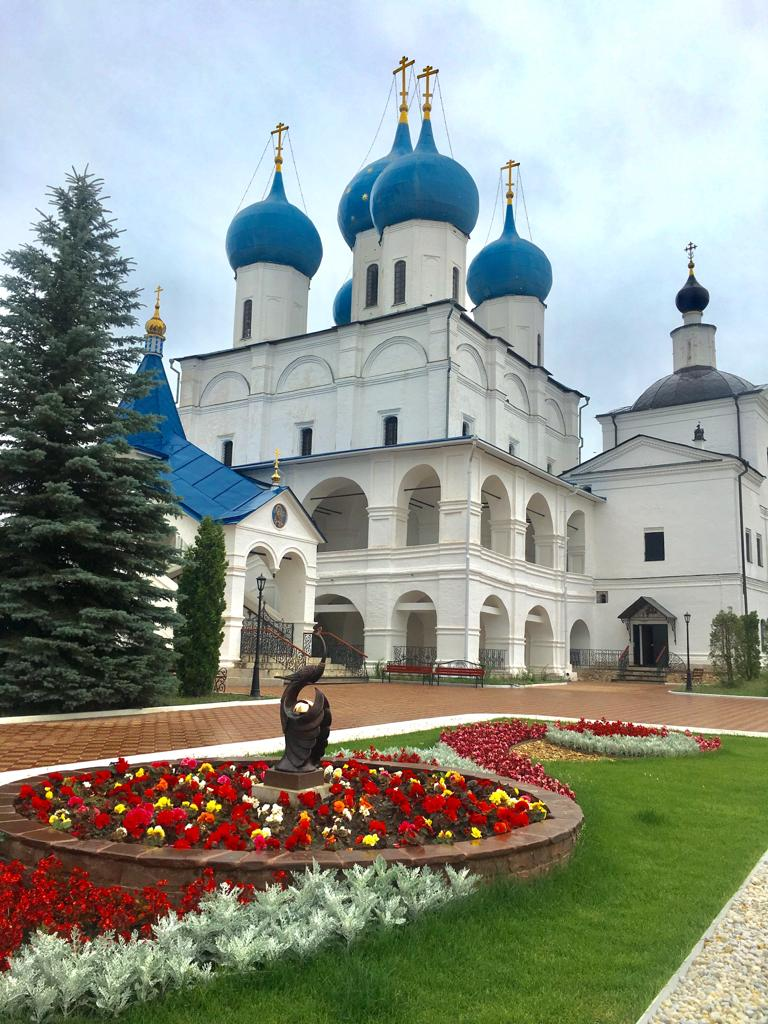 Паломничество в Серпуховской Высоцкий мужской монастырь и к преподобному Давиду