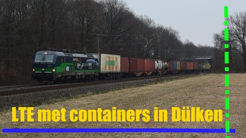 LTE 193 728 komt met containers langs Dülken