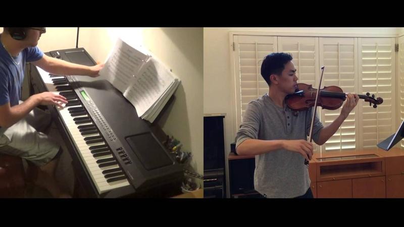 Pokemon Medley Violin and Piano duet Josh Chiu Kyle Landry