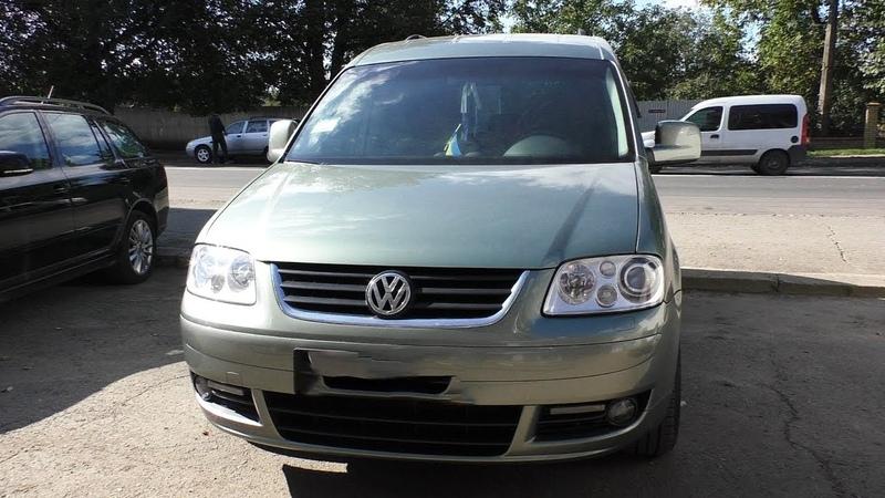 Нафаршированный VW Caddy 1.9TDI 2005 с Салоном от VW Touran 2013!!