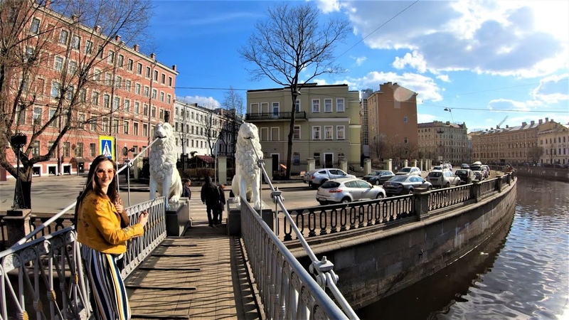 Санкт-Петербург - Прогулка по набережной канала Грибоедова 4К