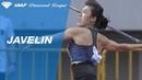 Hui Hui Lyu wins the javelin competition in Shanghai - IAAF Diamond League 2019