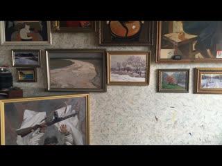 Стрим 161.RU   Смотрим портрет Путина в мастерской художника Рафаэля Лукьянова
