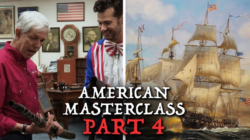 The History of the U S Navy American Masterclass with Historian David Barton Louder With Crowder