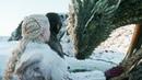 Первый полёт Джона Сноу на Драконе | Игра престолов 8 сезон 1 серия
