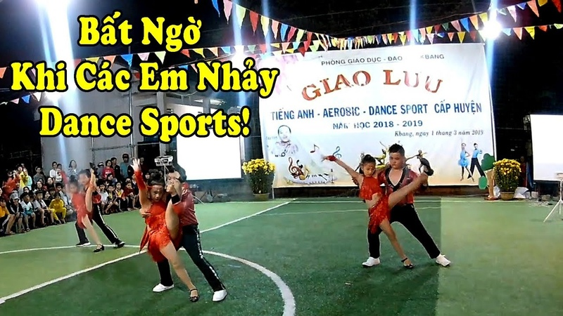 Bất Ngờ Khi Các Em Nhảy - Dance Sports Nhí || Mr Tran Vlog