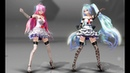 MMD - WAVE - TDA Miku Lace Dress,Luka Lace Dress【CAMERA-DL】