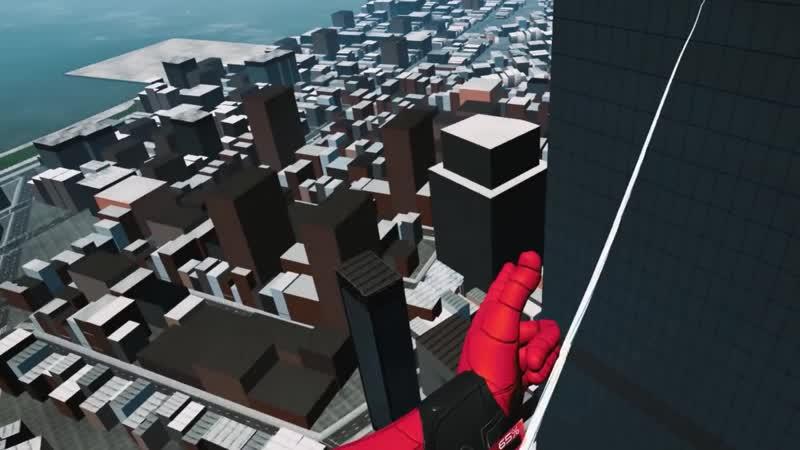 Новая игра про спайдермэна в виртуальной реальности!