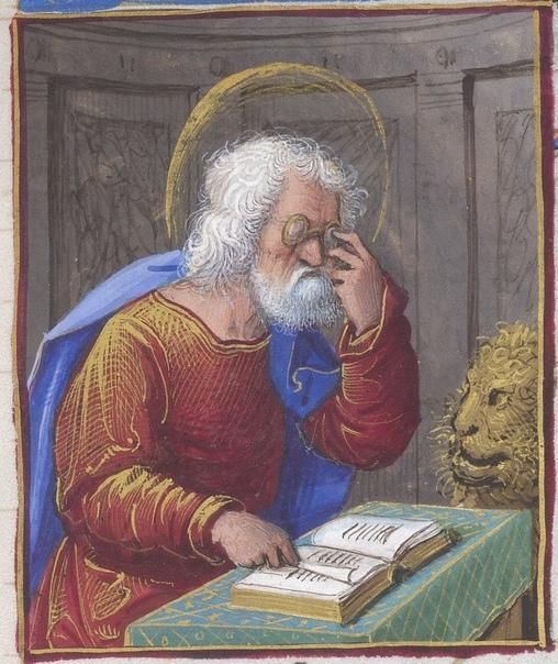 СРЕДНЕВЕКОВЫЕ ОЧКИ Очки, помогающие ослабленным глазам, появились только в конце XIIIвека. Стоили они страшно дорого и долгое время оставались предметом роскоши. Чтение же при свече и факеле,