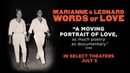 MARIANNE LEONARD WORDS OF LOVE | Official Trailer | Roadside Attractions