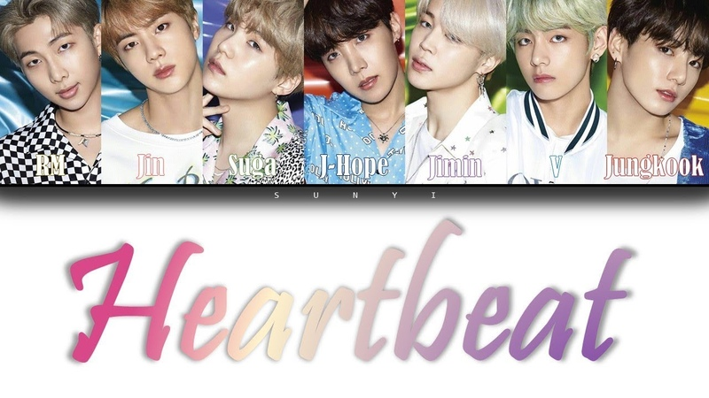 BTS - Heartbeat (Han|Rom|Eng|Pol color coded lyrics)