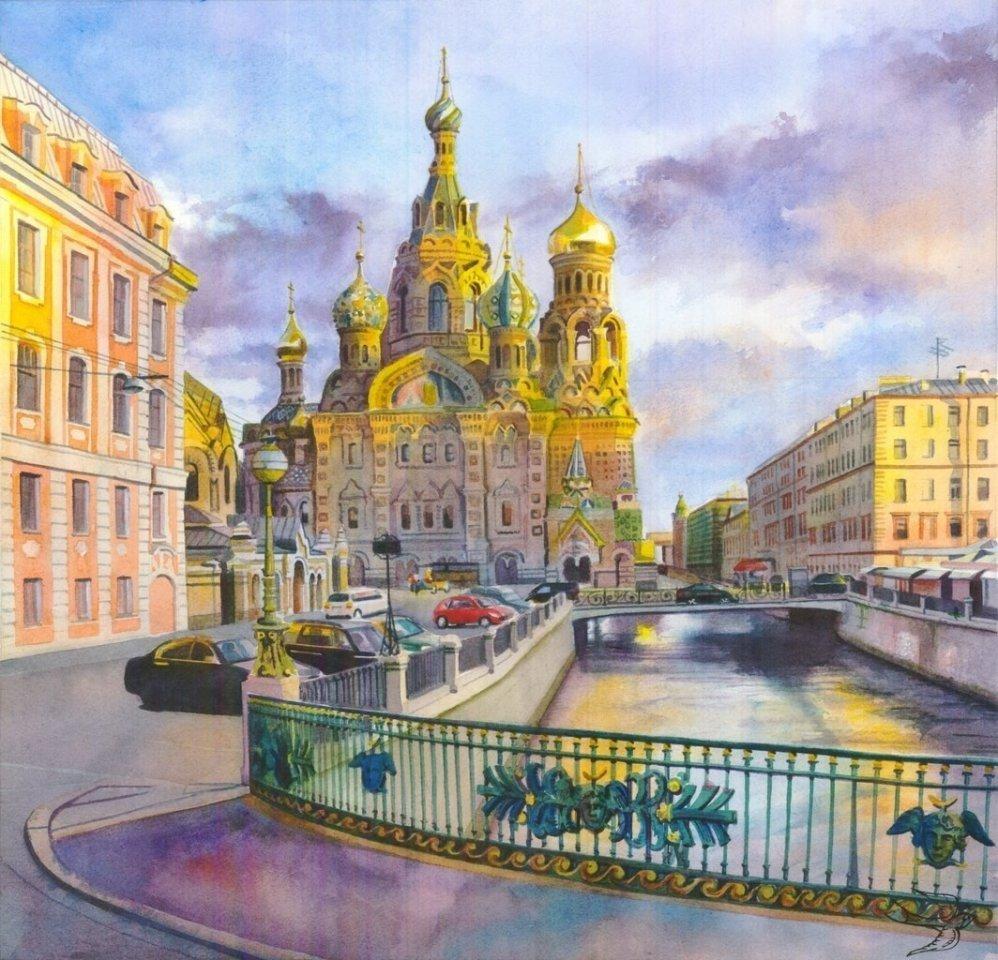 Санкт-Петербург в акварели.