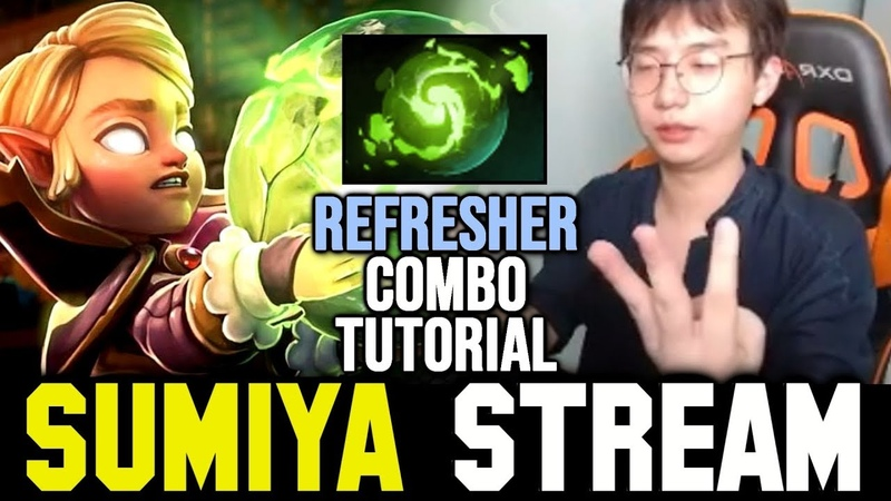 All Invoker Refresher Combos You Should Know | Sumiya Invoker Stream Moment 849