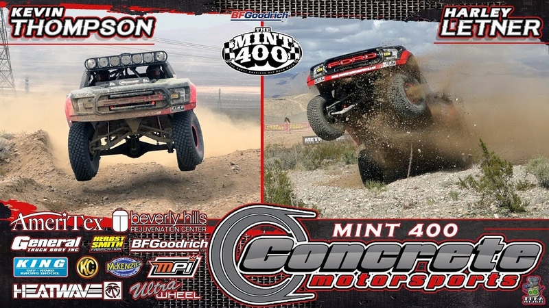 Concrete Motorsports at the 2019 BFGoodrich Mint 400