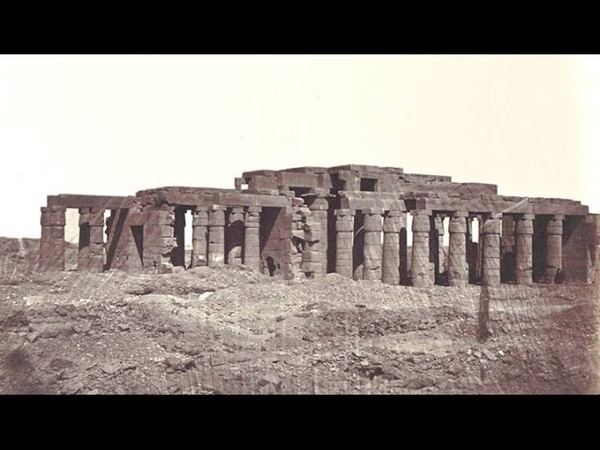 Vintage photographs of megaliths in Egypt 2/2