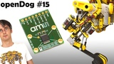 openDog Dog Robot #15 Encoders &amp Hardware Upgrades James Bruton