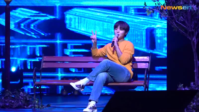 Park Jihoon (박지훈), 하트가 뿅뿅넘치는 수록곡 무대 Young 20(PROD. by 이대휘) [NewsenTV]