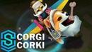 Corgi Corki Skin Spotlight - Pre-Release - League of Legends