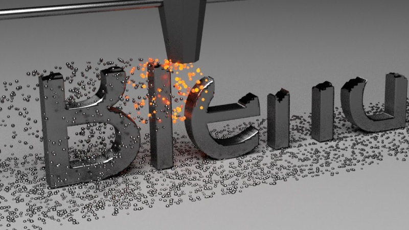 Blender Tutorial: Fanciful Text Machine Animation