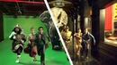 Amazing Before After Hollywood VFX Night at the Museum Secret of the Tomb