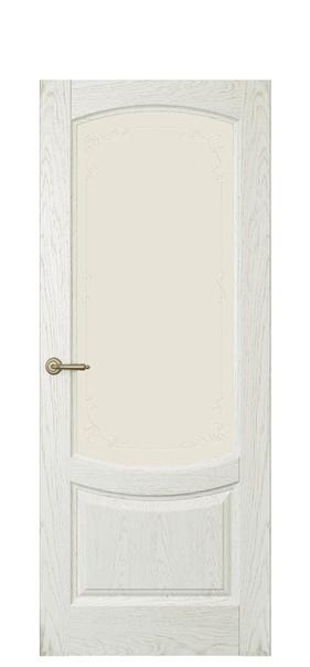 Дверь Олива, дуб белый жемчуг