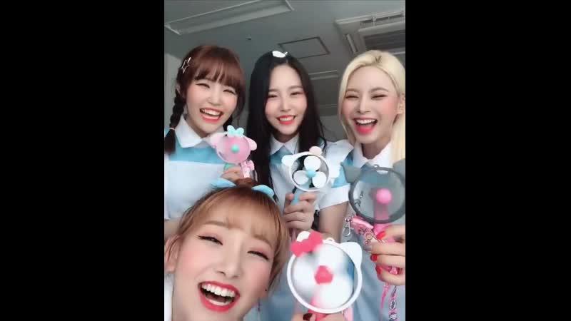 [핑판] - - 산리오프렌드 선풍기 놀이 - 다들 더위를 시원하게 날리세요 - - 핑크판타지 - PINKFANTASY - ピンクファンタジー - 마이돌엔터테인먼트