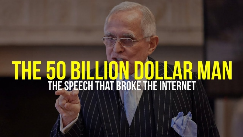 The 50 Billion Dollar Man The Speech That Broke The Internet