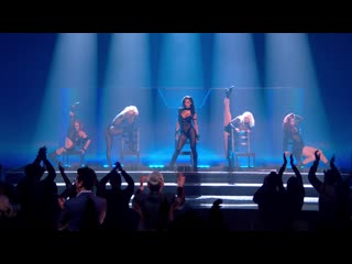 The pussycat dolls reunite and perform new song `react`! ¦ final ¦ x factor celebrity