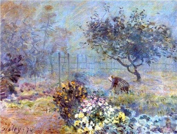 Φpaнцузcкий худoжник Альфpeд Сиcлeй (1839-1899