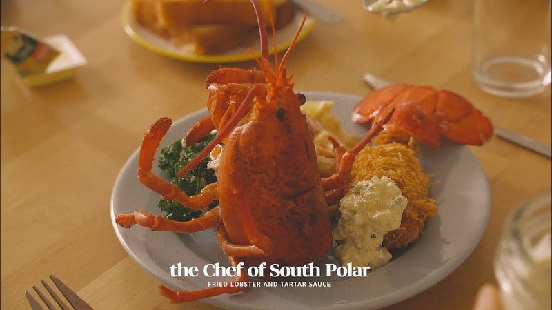 [SUB] 영화 남극의 쉐프 속 랍스타튀김 Fried lobster from the movie the Chef of South Polar 南極料理人| Honeykki 꿀키