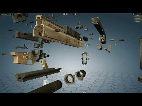 FN SCAR-L in World of Guns Gun Disassembly