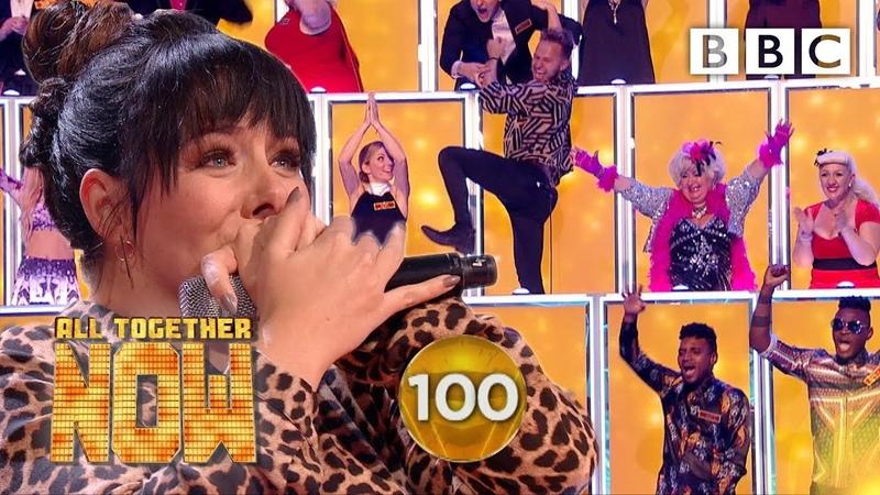 SHE GOT 100! Shellyann smashes Sia's I'm Alive 🤯 - BBC All Together Now 🎤
