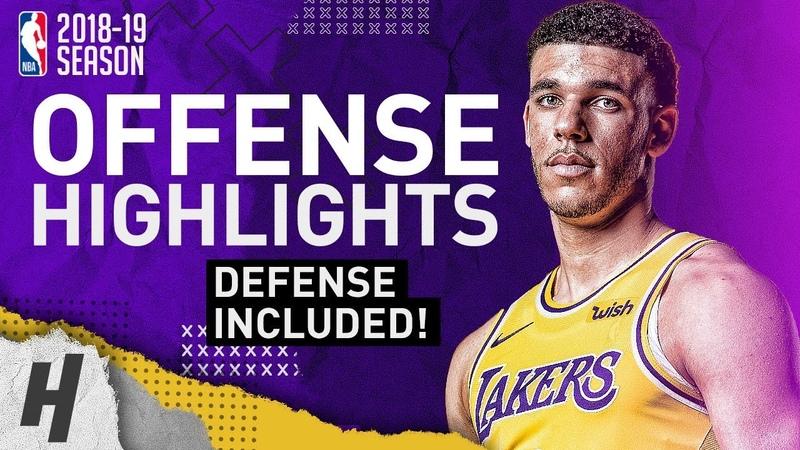 Lonzo Ball BEST Offense Defense Highlights from 2018-19 NBA Season! BIG BALLER!