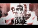 Shingeki No Kyojin AMV │ Young And Menace