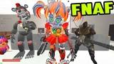 АНИМАТРОНИКИ И МОНСТРЫ ПРОТИВ ОХРАННИКА FNAF ► Garry's Mod