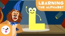 The letter L with Lucas the Lion- Educational video to learn the consonants
