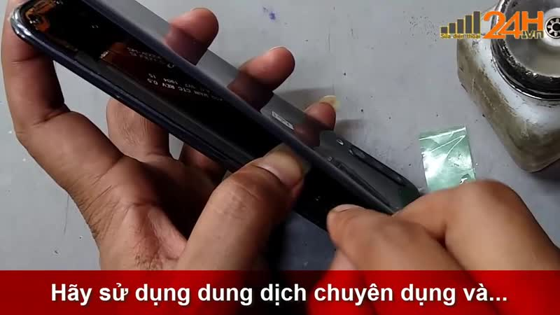 Hướng dẫn thay nắp lưng Samsung Galaxy A50 chính hãng tại Hà Nội đến Tphcm [ Suadienthoai24h.vn ]