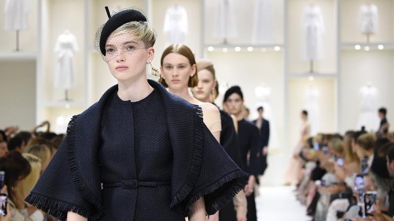 Коллекция Dior осень/зима 2018-19: качество и элегантность