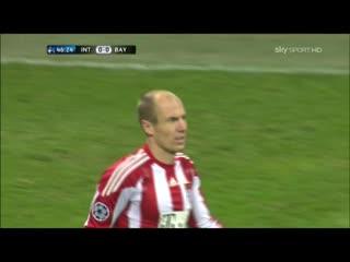 190 CL-2010/2011 Inter - Bayern München 0:1 (23.02.2011) HL