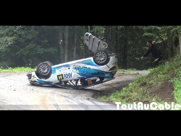 Best of Rallye Rally Crash Mistakes 2018 by ToutAuCable