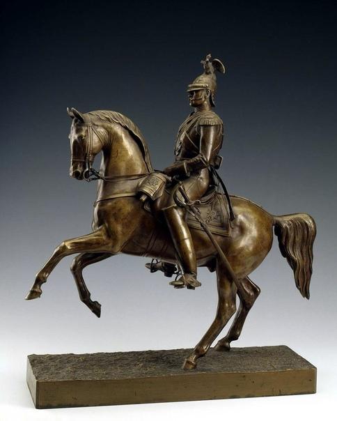 Модель конной статуи для памятника императору Николаю Первому.