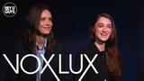 Stacy Martin &amp Raffey Cassidy on Vox Lux starring Natalie Portman