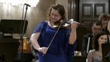А.Хачатурян - концерт для скрипки с оркестром. Солистка - Ариадна Анчевская