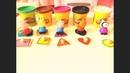 Учим цифры, формы и цвета с плей до Открываем сюрпризы