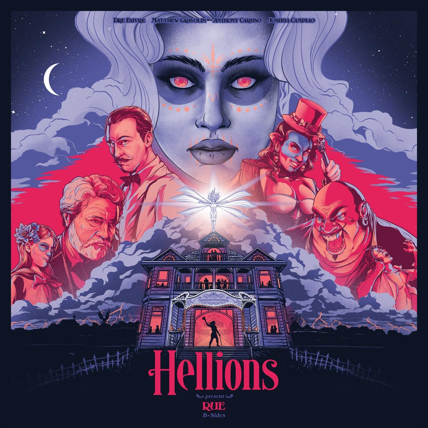 Hellions - Rue B-Sides (2019)