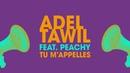 Adel Tawil feat. Peachy Tu m'appelles (Lyric Video)