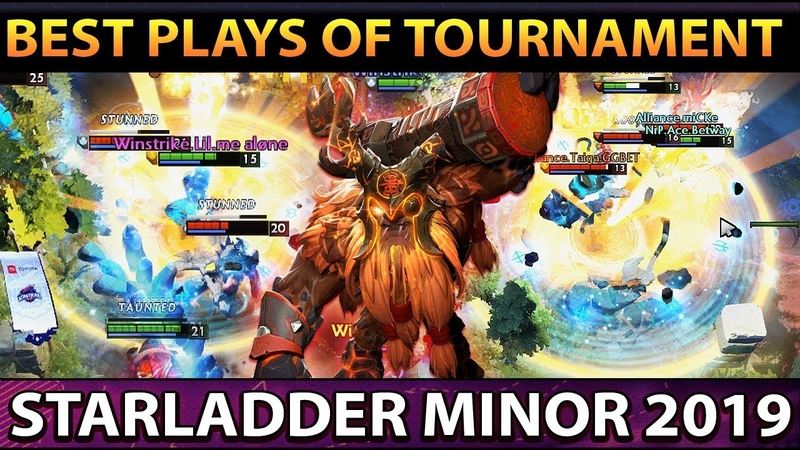 STARLADDER ImbaTV 2 Minor - BEST PLAYS, BEST MOMENTS - Aftermovie Dota 2