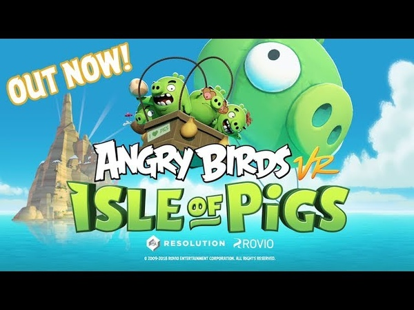 Angry Birds VR Isle of Pigs Launch Trailer